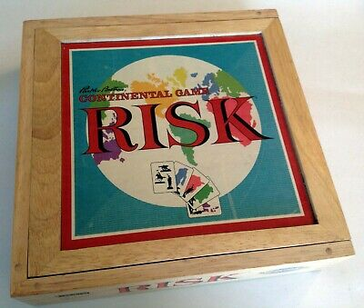 $9.95 • Buy Risk Nostalgia Series Continental Board Game Wood Box Parker Brothers Excellent
