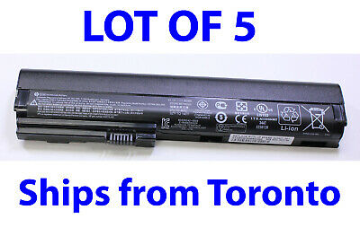$ CDN77.27 • Buy Lot Of 5 Genuine Battery SX06 For HP EliteBook 2560P 2570P 62Wh 6Cell 632421-001