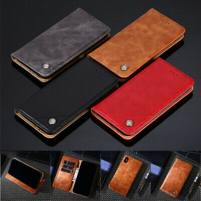 $ CDN7.99 • Buy For Samsung Galaxy Note 10 Plus 9 8 5 4 Business Leather Flip Wallet Case Cover