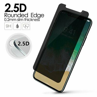 AU1.82 • Buy Nuglas Privacy Anti-Spy Glass Screen Protector IPhone 11 12 Pro Max Xr Xs 8 7 6+