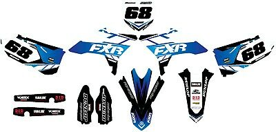 AU179.90 • Buy Custom Graphics For Yamaha YZ 125 2015 - 2019 R-TECH REVOLUTION OUTLAW Style