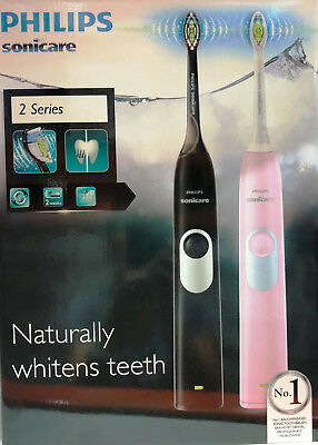 AU138 • Buy 2PK Philips Sonicare 2 Series Rechargeable Electric Toothbrush DiamondClean