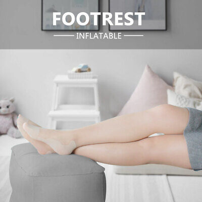 AU18.90 • Buy AU Travel Inflatable Foot Rest  Air Pillow Cushion Office Leg Up Footrest Relax