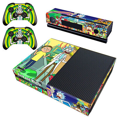 $13.20 • Buy Regular Xbox One Kinect Controllers Cover Rick Morty Vinyl Decal Skin Stickers