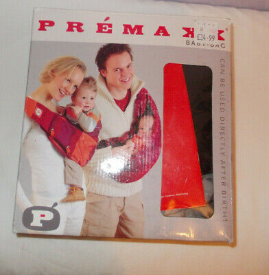 £15.50 • Buy RRP £34.99 Premaxx Baby Sling Babybag Carrier Boxed From Birth Upto 18 Months