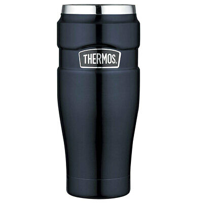 AU38 • Buy Thermos 470ml Vacuum Insulated Stainless Steel King Tumbler/Mug Midnight Blue