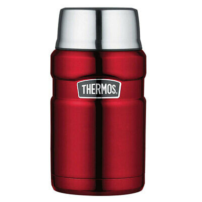 AU39.95 • Buy Thermos 710ml Vacuum Insulated Stainless Steel King Food Jar/Flask Container Red