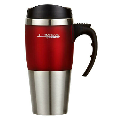 AU19.95 • Buy Thermos Cafe 450ml Vacuum Insulated Stainless Steel Hot/Cold Travel Mug/Flask RD