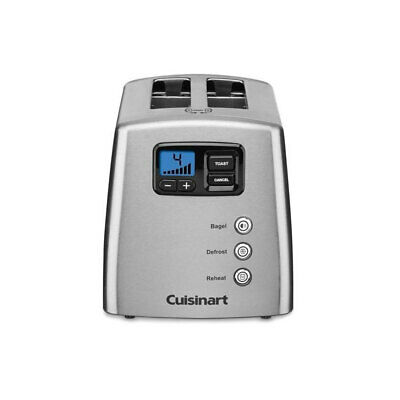 AU99 • Buy Cuisinart CPT-420A 2 Slice Toaster W/ Motorised Lift/LCD Display/Countdown Timer