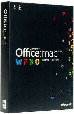 AU189.99 • Buy Microsoft Office For MAC Home And Business 2011 (1 User) #New