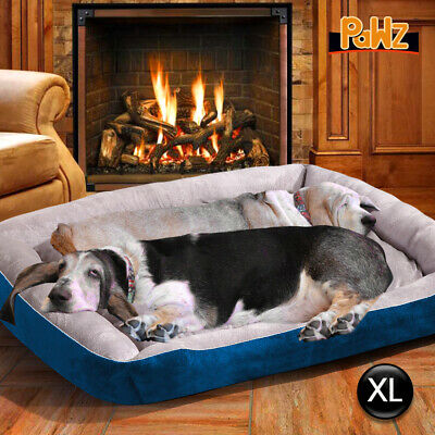 AU32.99 • Buy PaWz Pet Bed Dog Beds Bedding Mattress Mat Cushion Soft Pad Pads Mats XL Navy