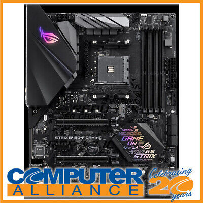 AU229 • Buy ASUS AM4 ATX ROG STRIX B450-F GAMING DDR4 Motherboard
