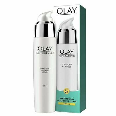 AU26.09 • Buy Olay White Radiance Brightening Intensive Lotion SPF24 75ml Free Shipping.