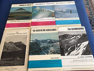 £25 • Buy 6 Climbing And Walking Books Guides
