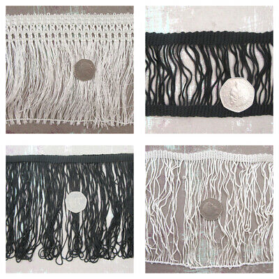 1 Or 3 METRE SEW ON CHAINETTE FRINGE EDGING TRIMMING *4 STYLES* HABERDASHERY  • 4.49£