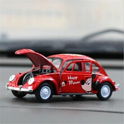 Mini Volkswagen Beetle Car Toy Gift Car Model  Car Interior Design Open Door's • 10.14£