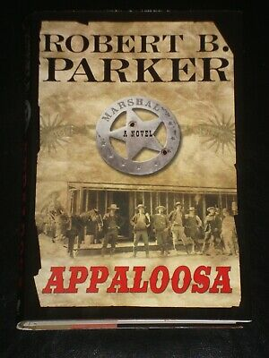 APPALOOSA By Robert B. Parker (Hardcover, 2005) EX-LIBRARY NOVEL MADE INTO MOVIE • 13.72£