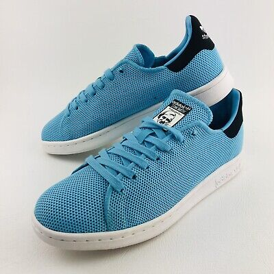 AU59.95 • Buy Like New Mens Adidas Originals Stan Smith 8 US Sneakers Trainers Shoes Blue [MS4