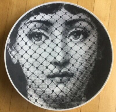 "$150 • Buy Fornasetti T&V 10.5"" Plate 78"