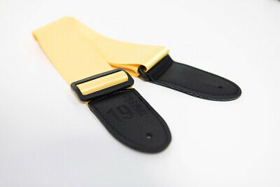 Guitar Strap Kids Child Shiny Effect Yellow Childrens School Guitar Classical • 4.99£