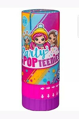 Party Pop Teenies Surprise Poppers BRAND NEW!! Collectors Items Toys  • 6.99£