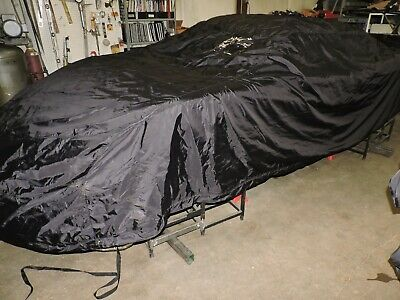 $279 • Buy Car Cover For Late Model / CUP Car Waterproof Super Nice Black Insulated NASCAR