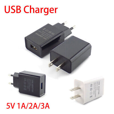 AU5.99 • Buy Universal 5V 1A/2A/3A USB Wall Power Adapter Travel Charger For IPhone Samsung