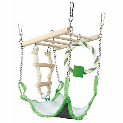 £9.21 • Buy Trixie Suspension Bridge Hanging Toy With Hammock Bed - Hamster/Mouse Cage Nest