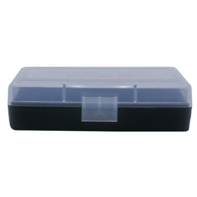 AU6.79 • Buy BERRY'S PLASTIC AMMO BOX, CLEAR/BLACK 50 Round 9MM / 380 - BUY 5 GET 1 FREE
