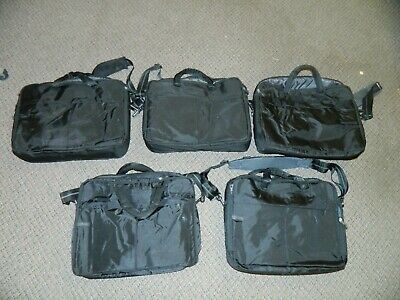 $ CDN80.08 • Buy Lot Of 5 OEM Authentic Dell Laptop Tablet Computer Cases 17  Wide Carrying Bag
