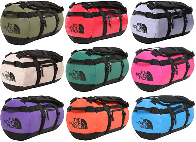 THE NORTH FACE TNF Base Camp Duffel Waterproof Travel Bag 31 L Size XS New • 87.99£