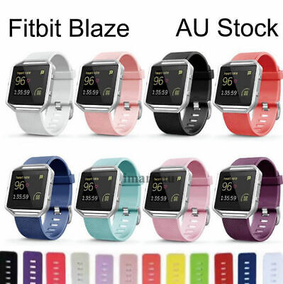 AU6.90 • Buy Luxury Band Replacement Wristband Watch Strap Bracelet For Fitbit Blaze Bands