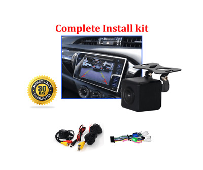 AU178 • Buy Reverse Camera Kit For Toyota Hilux Factory Screen 2015 - 2019 Workmate SR & SR5