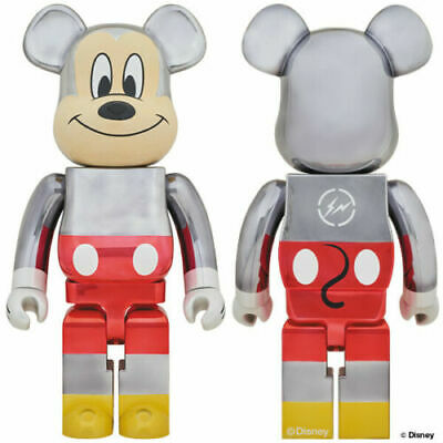 $9999.99 • Buy IN HAND Disney Medicom Be@rbrick Mickey Mouse 90th D23 Fragment Bearbrick 1000%