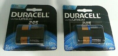 $ CDN17.47 • Buy 2 Duracell Ultra Lithium 245 6V 2CR5 DL245 Battery Exp Mar 2024 SKBAWA-b055