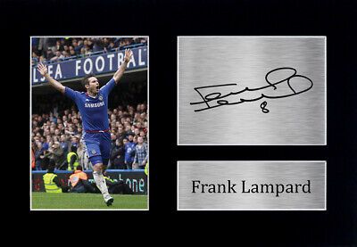 Frank Lampard Signed Pre Printed Autograph Photo Gift For A Chelsea Fan • 19.99£