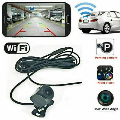 $ CDN37.91 • Buy Wifi Car Rear View Reversing HD Back Up Parking Monitor Camera Kit Night Vision