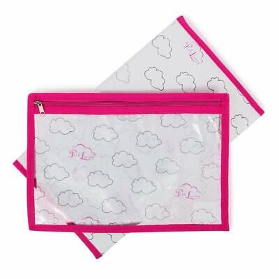 Pink Lining Yummy Mummy Portable Clouds Design Changing Mat & Wet Bag Set  • 14.99£