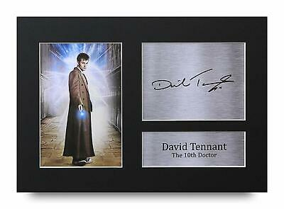 £22.99 • Buy David Tennant Doctor Who Signed A4 Framed Printed Autograph Poster Print Gift