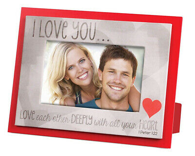 55% OFF Photo Frame  I Love You ... Love Deeply  - 17410 • 7.99£