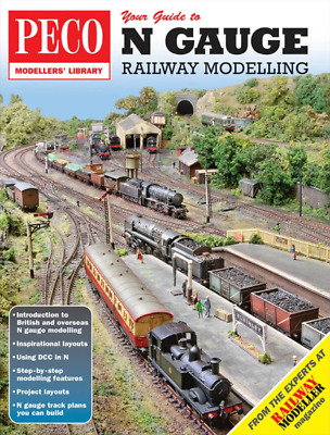 Peco Your Guide To N Gauge Railway Modelling Model Railway PM-204 • 8.99£
