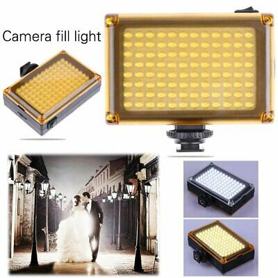 96 LED Video Light Lamp Photo Studio Fill Lighting For DSLR Camera Camcorder • 12.98£
