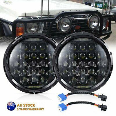 AU87.99 • Buy Pair 7''Inch 210W Round LED Headlights Hi/Lo Beam DRL Headlamps For GQ PATROL
