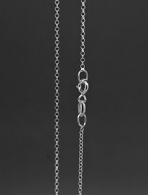 925 Sterling Silver Round Link Belcher Chain Necklace (Various Sizes Available)  • 7.99£