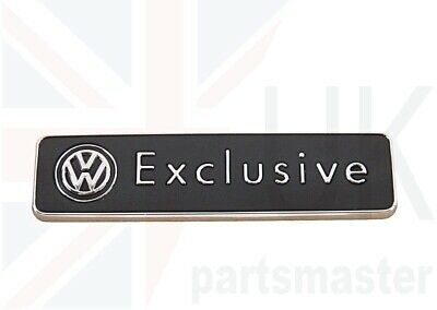 Vw Golf Passat Scirocco Touareg Genuine Exclusive Badge Emblem Trunk 1k0853688f • 27.48£