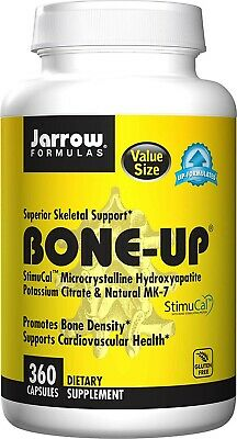 £39 • Buy Jarrow Formulas Bone-Up, Promotes Bone Density, 360 Caps Best Quality 100%