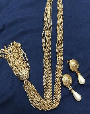 Vintage Sarah Coventry/Napier Necklace Earrings  Jewelry • 18$