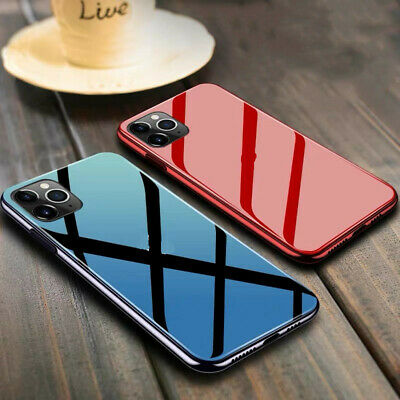 AU11.99 • Buy Luxury Tempered Glass Phone Case Cover For IPhone 11 Pro Max XS XR 6S 7 8 Plus X