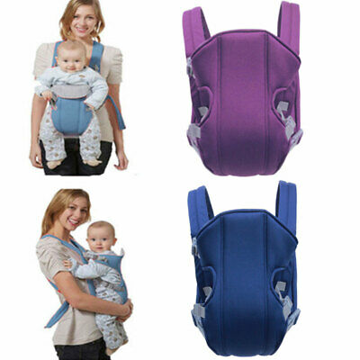 Adjustable Infant Baby Carrier Wrap Sling Hip Seat Newborn Backpack Breathable • 10.98£