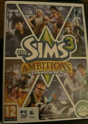 The Sims 3 Ambitions PC Mac Game • 4.99£